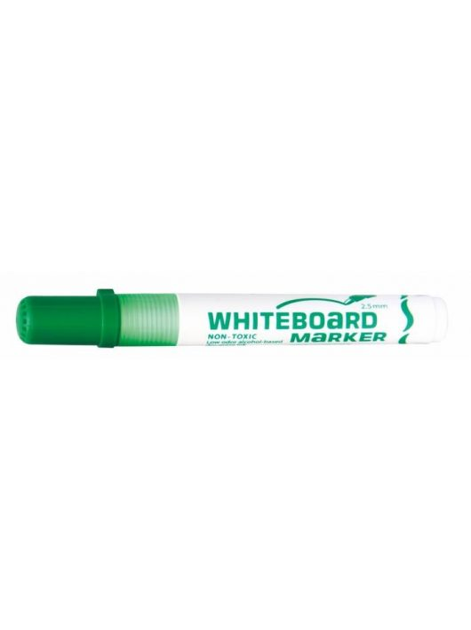 "Táblamarker, 2,5 mm, kúpos, FLEXOFFICE ""WB02"", zöld"