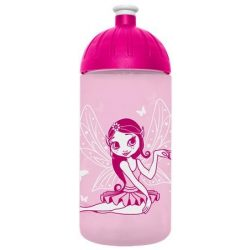 """Kulacs, higiénikus műanyagból, 0,5L, FREEWATER """"Tündér"""", rózsaszín"""