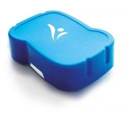 Uzsonnás doboz, higiénikus műanyagból, FREEWATER, kék