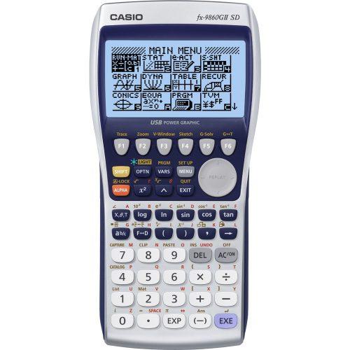 CASIO  FX 9860GII SD tudományos számológép