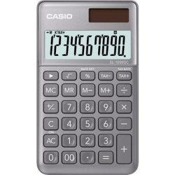 """Számológép, asztali, 10 számjegy, CASIO """"SL 1000"""" szürke"""