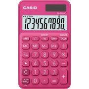 """Számológép, asztali, 10 számjegy, CASIO """"SL 310"""", rózsaszín"""
