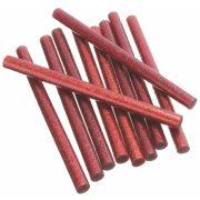 Csillámos ragasztó stick, 3 db, 7 x 200 mm, piros