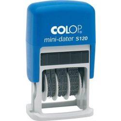 "Dátumbélyegző, COLOP ""S120"" (IC1051200)"