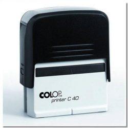 "Bélyegző, COLOP ""Printer C 40"" (IC1374001)"