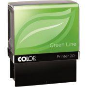"""Bélyegző, szó, COLOP """"Printer IQ 20/L Green Line"""", Kiadva (IC1462122)"""