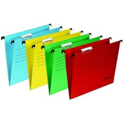 Függőmappa, karton, A4, VICTORIA, piros (IDFP), 25db