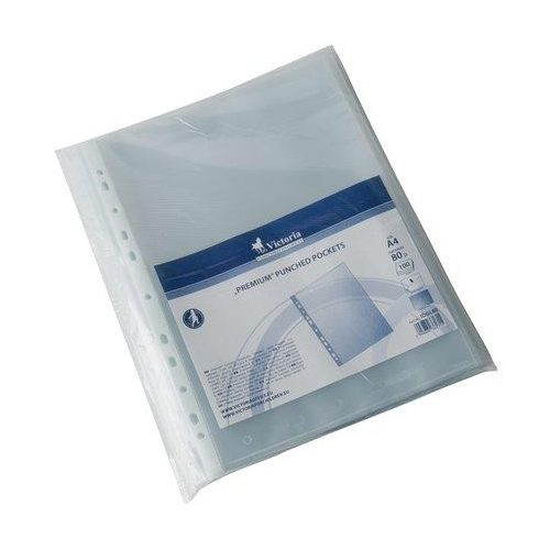 Genotherm 100 db, lefűzhető, A4, 80 mikron, narancsos felület, VICTORIA (IDGL80)