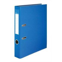 """Iratrendező, 50 mm, A4, PP/karton, élvédő sínnel, VICTORIA, """"Basic"""", kék (IDI50K)"""