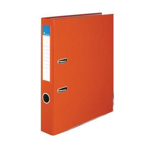 """Iratrendező, 50 mm, A4, PP/karton, élvédő sínnel, VICTORIA, """"Basic"""", narancs (IDI50NA)"""