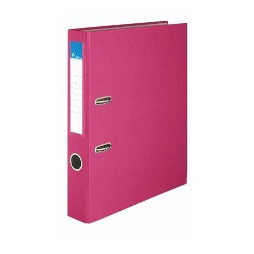 """Iratrendező, 50 mm, A4, PP/karton, VICTORIA, """"Basic"""", rózsaszín (IDI50RN)"""