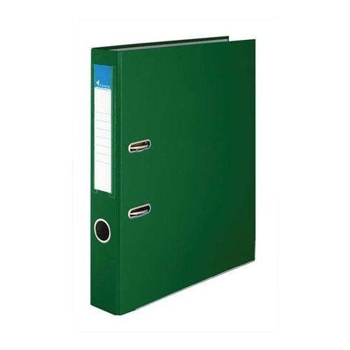 """Iratrendező, 50 mm, A4, PP/karton, élvédő sínnel, VICTORIA, """"Basic"""", zöld (IDI50Z)"""