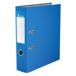 "Iratrendező, 75 mm, A4, PP/karton, VICTORIA, ""Basic"", kék"