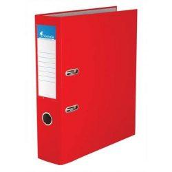 "Iratrendező, 75 mm, A4, PP/karton, VICTORIA, ""Basic"", piros (IDI75PN)"