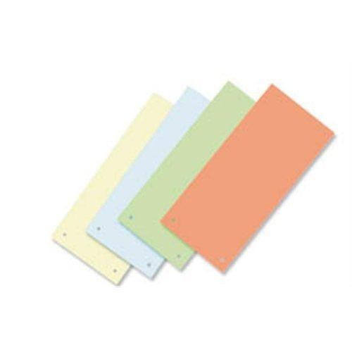 Elválasztócsík, karton, VICTORIA, narancssárga (IDPCS01)