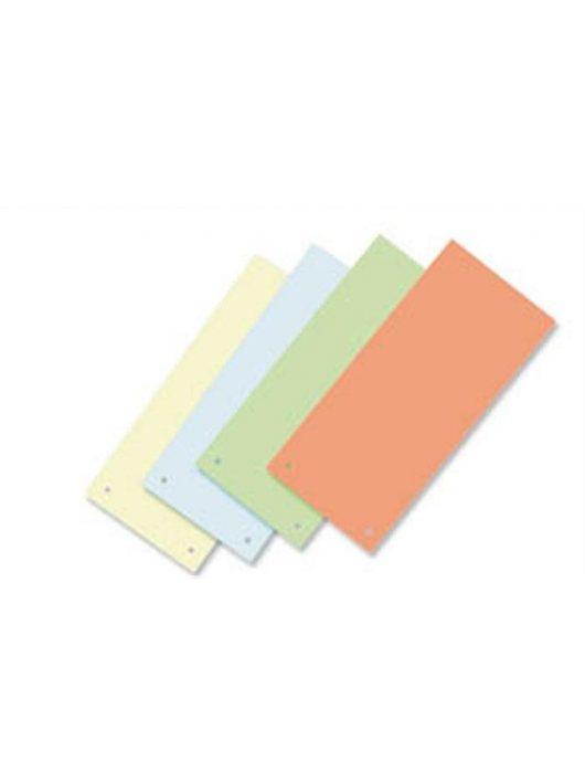 Elválasztócsík, karton, VICTORIA, zöld (IDPCS02)