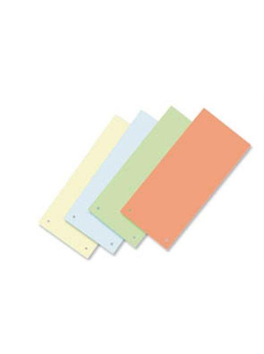 Elválasztócsík, karton, VICTORIA, kék (IDPCS03)
