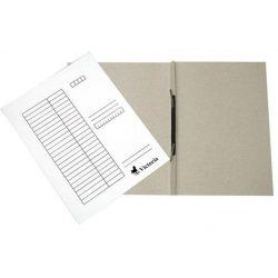 Gyorsfűző, karton, A4, VICTORIA, fehér (IDPGY01)