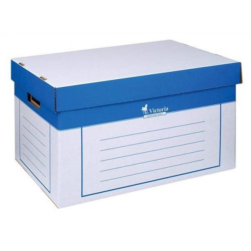 Archiváló konténer, 320x460x270 mm, karton, VICTORIA (IDVAK)