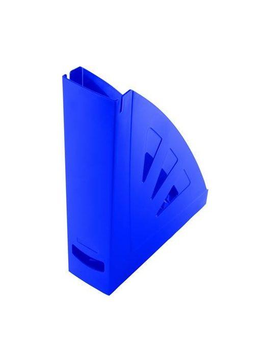 Iratpapucs, műanyag, 75 mm, VICTORIA, kék