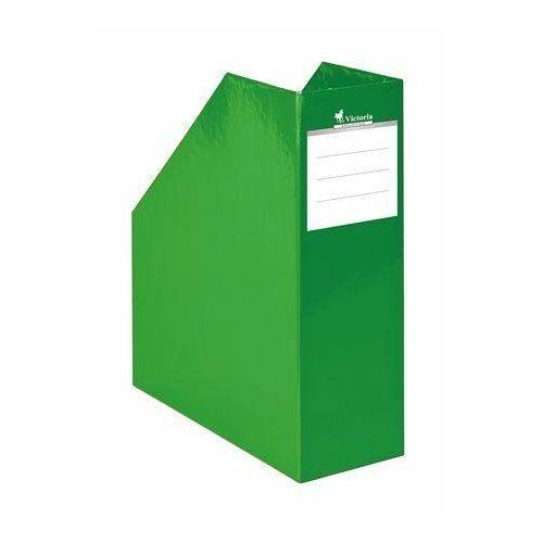 "Iratpapucs, karton, 90 mm, VICTORIA, ""Premium"", zöld (IDVPFZ)"