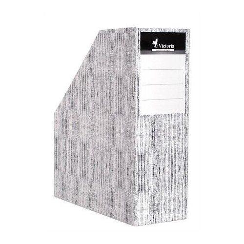 """Iratpapucs, karton, 90 mm, VICTORIA, """"Textil"""" (IDVPT)"""