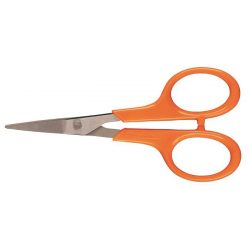 """Kézimunka olló, 10 cm, FISKARS """"Classic"""", narancssárga"""