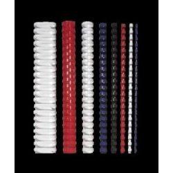 Spirál, műanyag, 10 mm, 41-55 lap, FELLOWES, kék (IFW53309)