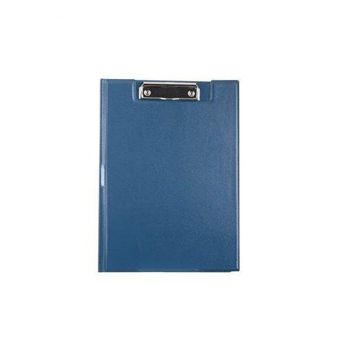 Felírótábla, fedeles, A4, zsebes, VICTORIA, kék (IIVFF03)