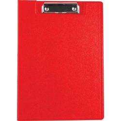 Felírótábla, fedeles, A4, zsebes, VICTORIA, piros (IIVFF04)