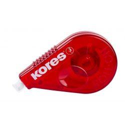 "Hibajavító roller, 4,2 mm x 15 m, KORES ""Roll On"", piros"