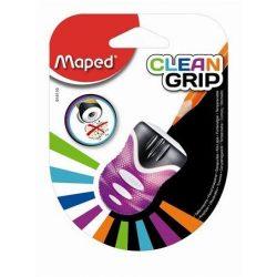 """Hegyező, egylyukú, tartályos, MAPED """"Clean Grip"""" ,vegyes színekben (IMA14110)"""