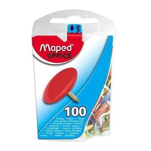Rajzszeg, 100 db-os, MAPED, színes (IMA310011)