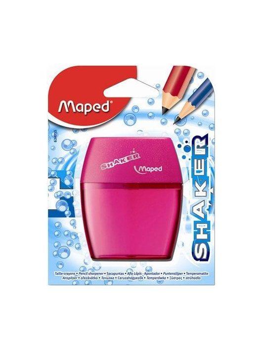 """Hegyező, kétlyukú, tartályos, MAPED """"Shaker"""", vegyes színek (IMA634755)"""