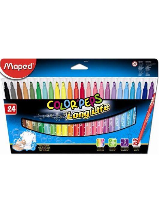 """Filctoll készlet, mosható, MAPED """"Color'Peps"""", 24 különböző szín (IMA845022)"""