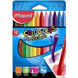 """Zsírkréta, MAPED """"Color'Peps"""", 12 különböző szín (IMA862011)"""