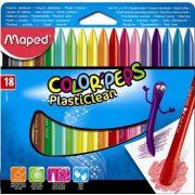 """Zsírkréta, MAPED """"Color'Peps"""", 18 különböző szín (IMA862012)"""