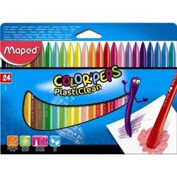 """Zsírkréta, MAPED """"Color'Peps"""", 24 különböző szín (IMA862013)"""