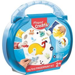 """Kreatív készségfejlesztő készlet, MAPED CREATIV, """"Early age"""", varázslatos festékvilág"""