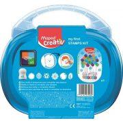 """Kreatív készségfejlesztő készlet, MAPED CREATIV, """"Early age"""", varázslatos nyomdavilág"""