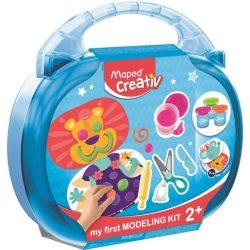 """Kreatív készségfejlesztő készlet, MAPED CREATIV, """"Early age"""", varázslatos gyurmavilág"""