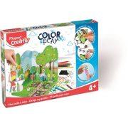 """Kreatív készségfejlesztő készlet, MAPED CREATIV, """"Color and Play"""", kerttervező"""