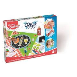 """Kreatív készségfejlesztő készlet, MAPED CREATIV, """"Color and Play"""", kerti parti"""