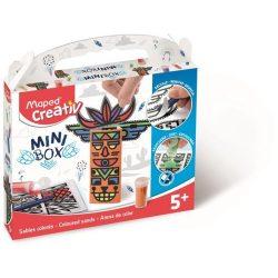 """Homokkép készítő kreatív készségfejlesztő készlet, MAPED CREATIV, """"Mini Box"""", totem"""