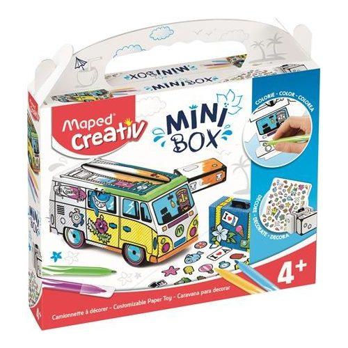 """3D színező kreatív készségfejlesztő készlet, MAPED CREATIV, """"Mini Box"""""""