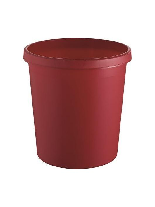 Szemetes, 18 liter, HELIT, piros (INH6105825)