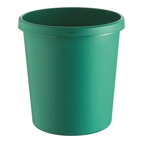 Szemetes, 18 liter, HELIT, zöld (INH6105852)