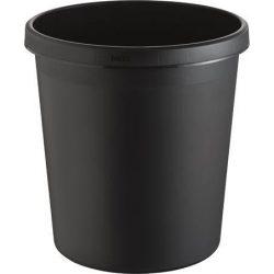 Szemetes, 18 liter, HELIT, fekete (INH6105895)
