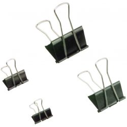Bindercsipesz, 50 mm, fekete (INJ10568)