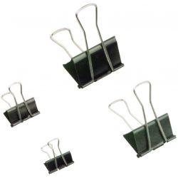 Bindercsipesz, 40 mm, fekete (INJ10569)